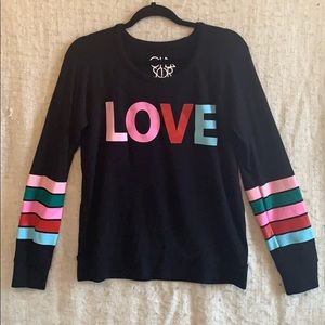 Chaser LOVE Sweater
